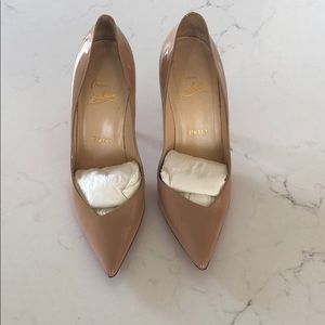 Nude Christian Louboutin! Like new! 36.5!